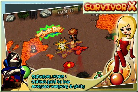 Screenshot SurvivorX